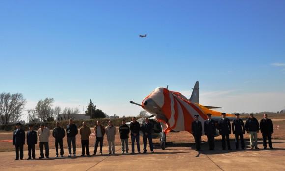 A-4B C222 El Tordillo restaurado pela Área de Material Rio IV - foto 2 Força Aérea Argentina