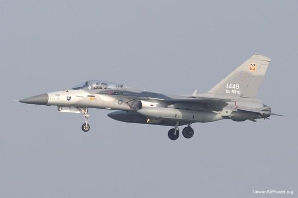 AIDC F-CK-1 - IDF taiwanês - foto Taiwan Air Power
