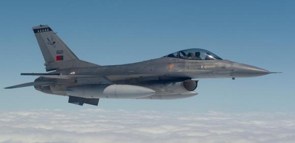F-16 - foto Força Aérea Portuguesa