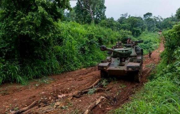 Forças francesas na Republica Centro Africana - foto MD França