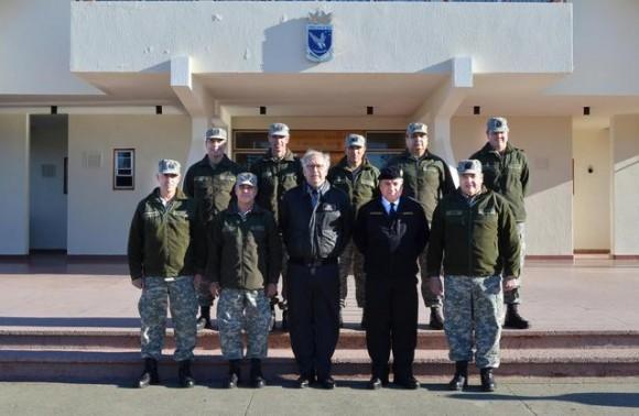 MD Burgos na IV Brigada Aérea - foto 2 FACh