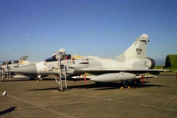 Mirage 2000-5 taiwanês - foto Taiwan Air Power