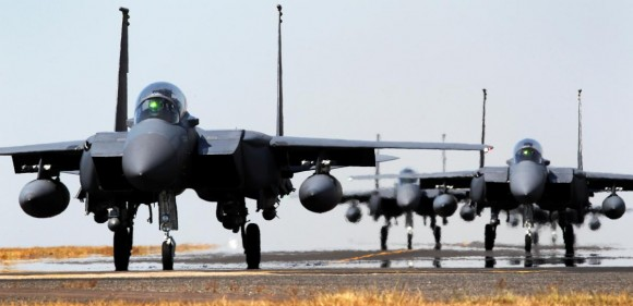 Pitch Black 14 - F-15 de Cingapura - foto 2 MD Australia