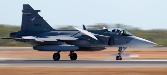 Pitch Black 14 - Gripen da Tailândia - foto MD Australia