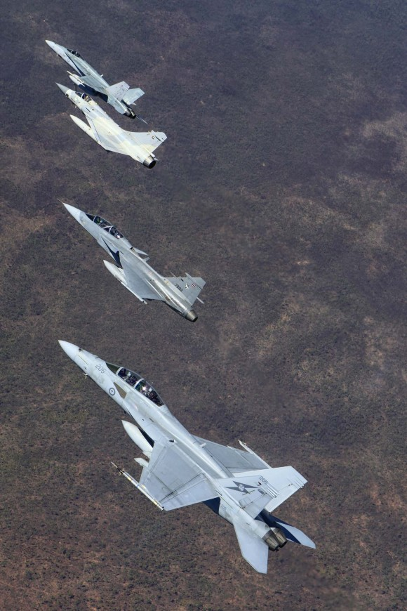 Pitch Black 2014 - Hornet - Super Hornet - Mirage 2000-9 - Gripen -  foto 3 MD Australia
