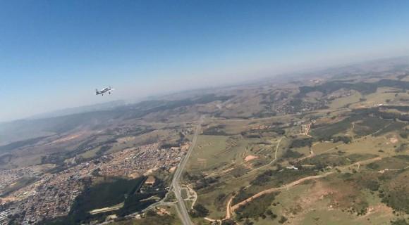 Primeiro voo T-XC - foto Novaer