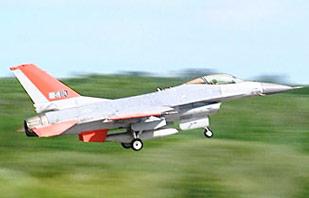 QF-16 decolando - foto Boeing