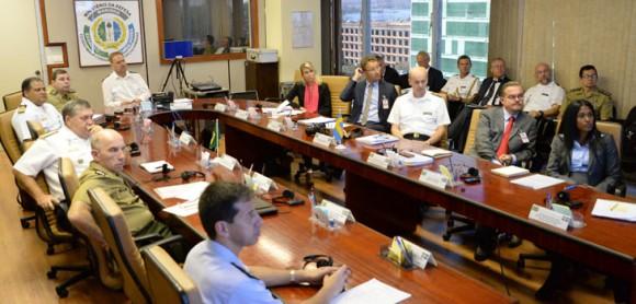 Reunião bilaterl MD Brasil e Suécia - foto Ministério da Defesa