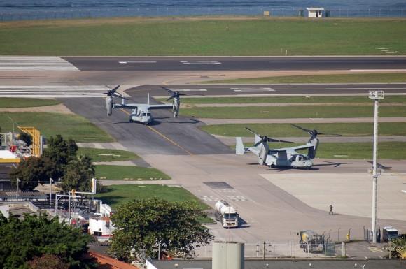V-22 Osprey no Santos Dumont