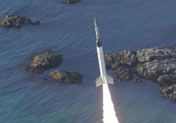 foguete VS40M - foto AEB