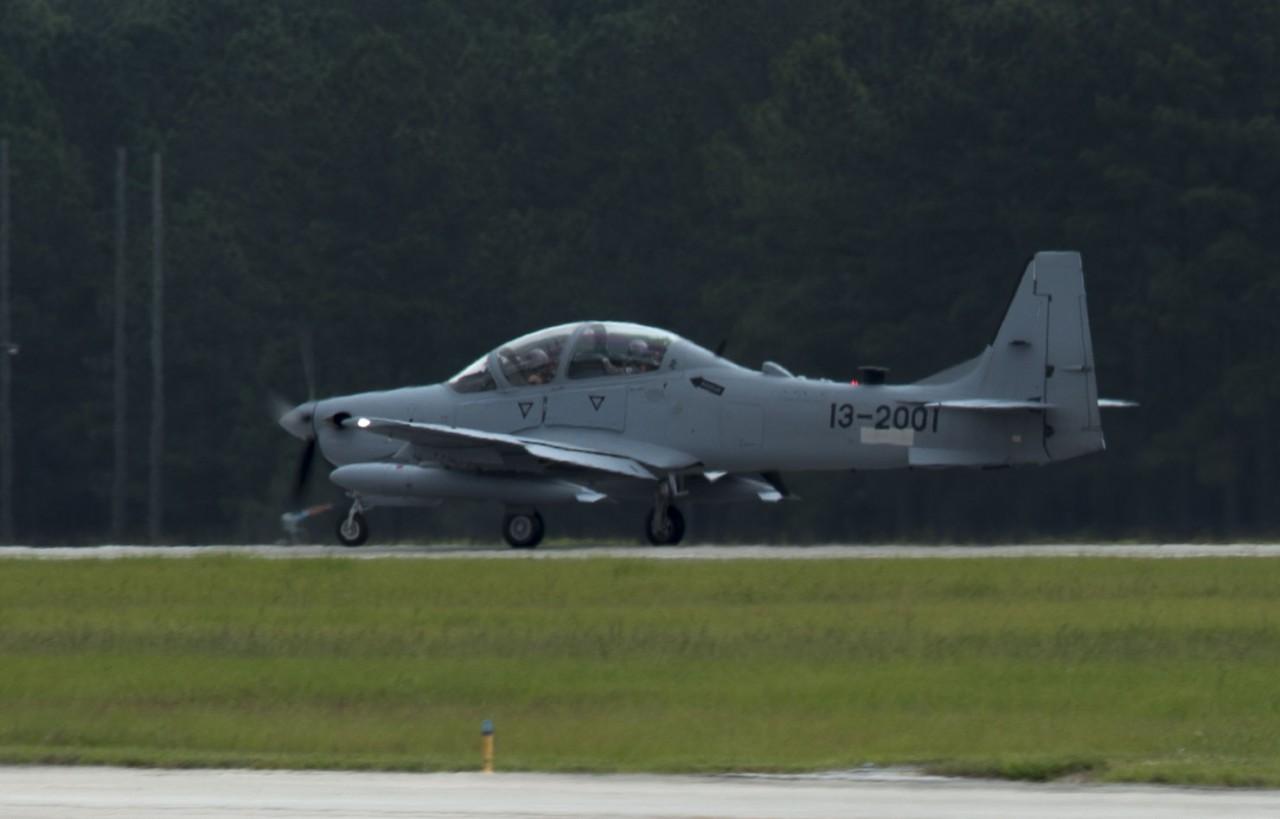 A-29 at Mood AFB - 1