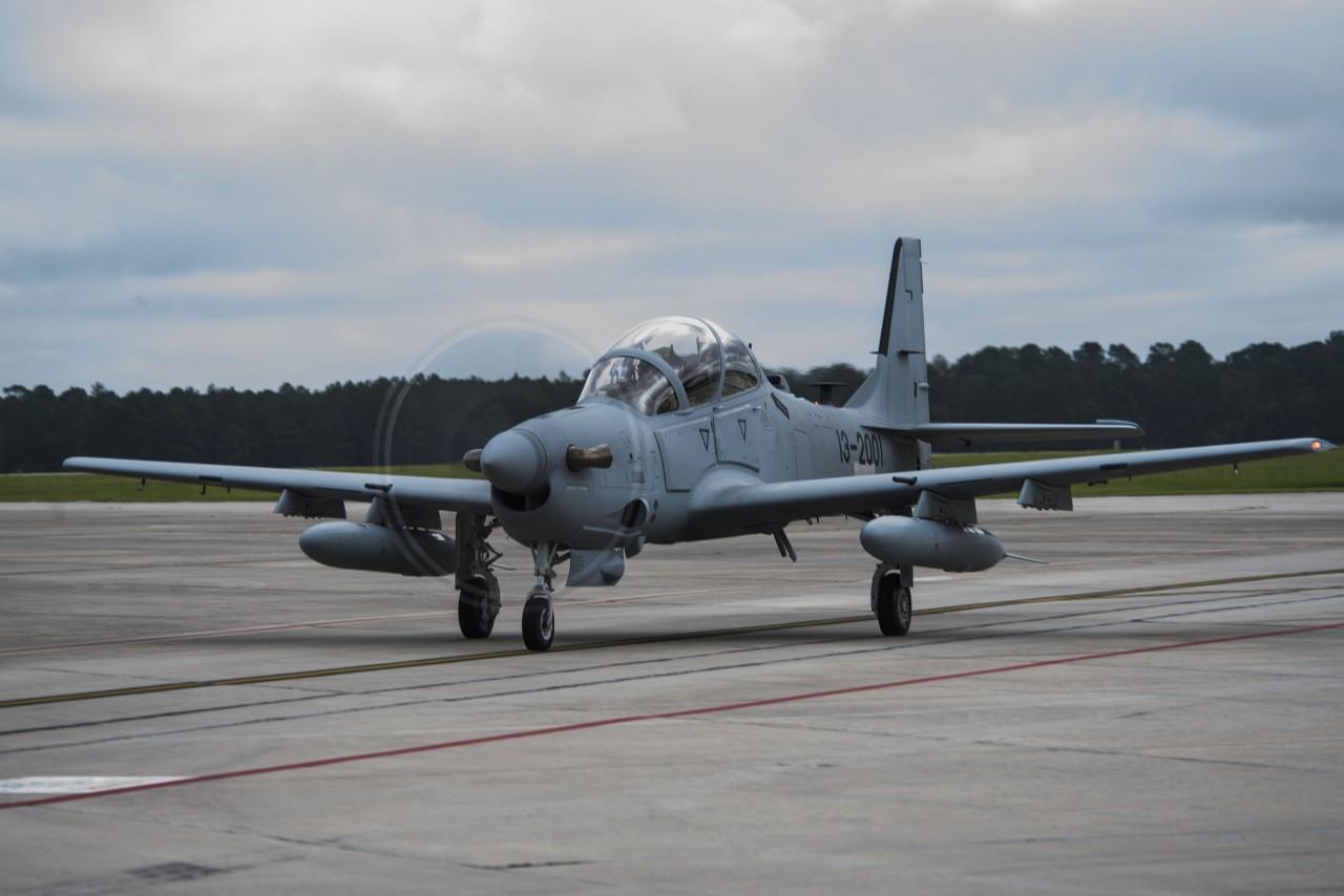 A-29 at Mood AFB - 2