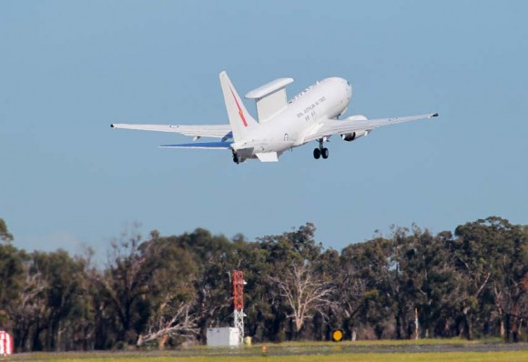 AEW&C Wedgetail australiano parte para o Oriente Médio - foto Min Def Australia