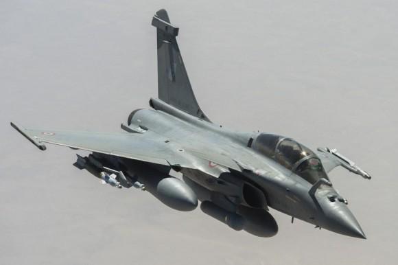 Ataque francês ao EI - caças Rafale - foto 2 Min Def França