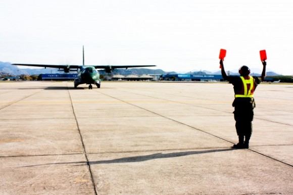 C-105 no PAMA-GL - foto FAB