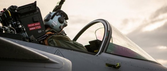 Caças Gripen estão de prontidão na ilha de Gotland - foto Forças Armadas da Suécia