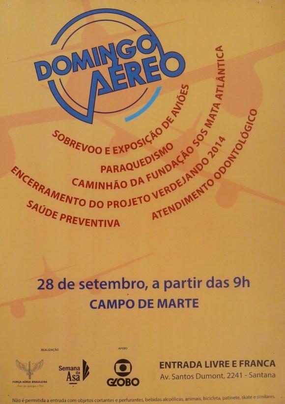 Domingo Aéreo - PAMA SP - 2014