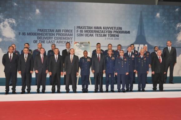 Entrega últimos F-16 paquistaneses modernizados na Turquia - foto 2 TAI