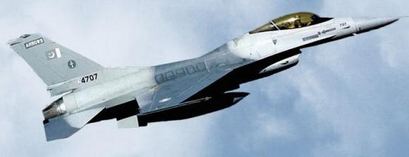 F-16 Paquistão - foto programa de modernização TAI