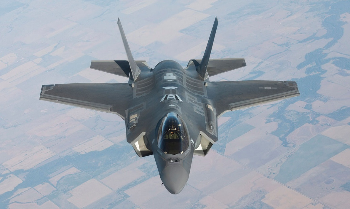 F-35A - foto via Code One Magazine - Lockheed Martin
