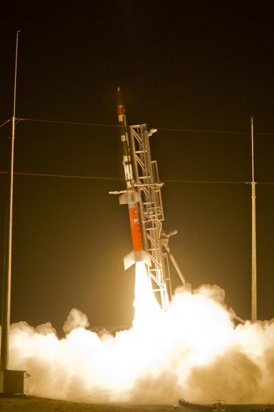 Lançamento VS-30 combustível líquido - foto FAB