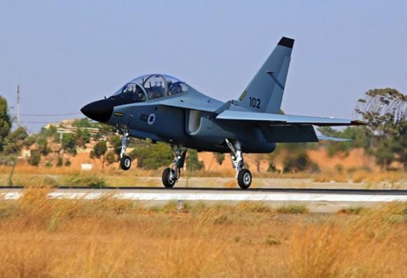 M346 Lavi - foto Força Aérea Israelense