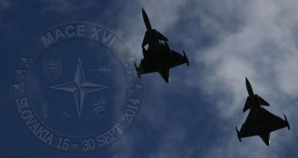 MACE XVI - Gripen - foto Força Aérea Eslovaca