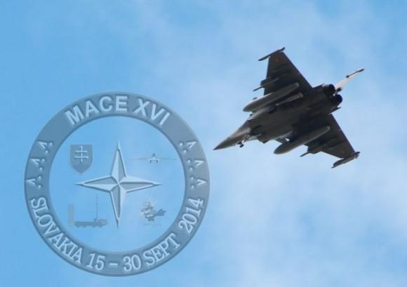 MACE XVI - Rafale - foto Força Aérea Eslovaca