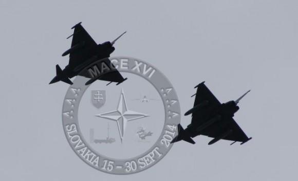 MACE XVI - Typhoon - foto Força Aérea Eslovaca