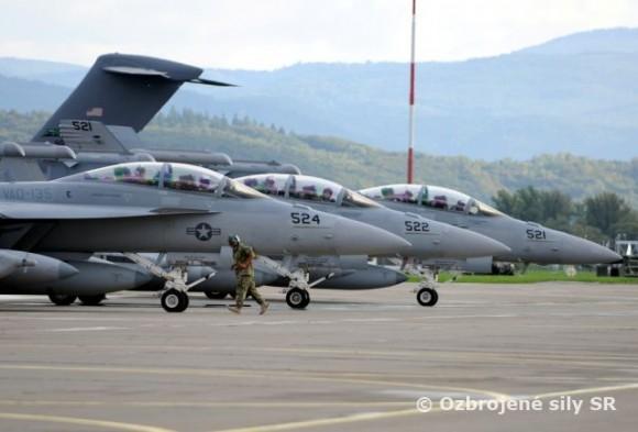 MACE XVI - foto Força Aérea Eslovaca