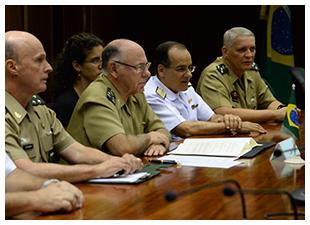 MOU Entendimento Técnico Aeronáutica Militar - Brasil-Suécia - foto Ministério da Defesa