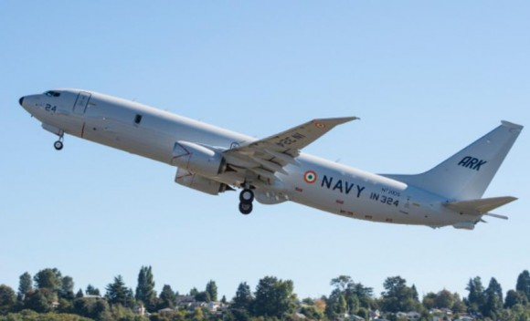 P-8I - quinta entrega para a Índia - foto Boeing