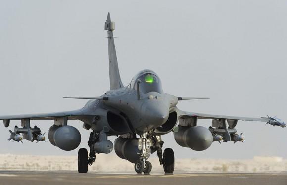 Primeiro ataque Rafale ao EI no Iraque - foto Min Def França