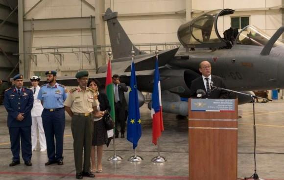 Rafale - primeiro voo reconhecimento sobre Iraque - foto 3 Min Def França