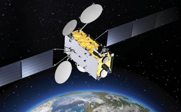 SGDC Sat Geo de Def e Comunicações - imagem via Thales