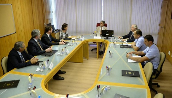 T-Xc - encontro no Ministério da Defesa - foto Novaer