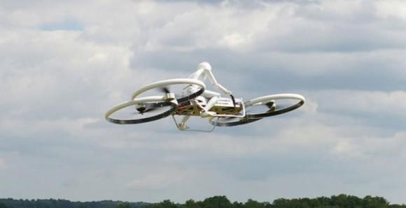 hoverbike - foto via dronesforgood
