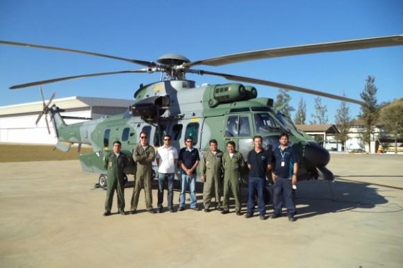 quarto H-36 da FAB recebido em Itajubá - foto FAB