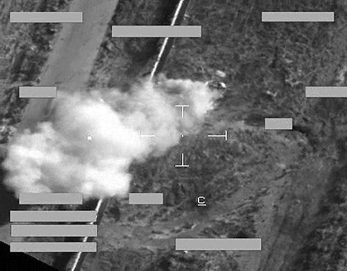 Alvo de ataque de jatos Tornado ao EI no Iraque - foto 2 RAF