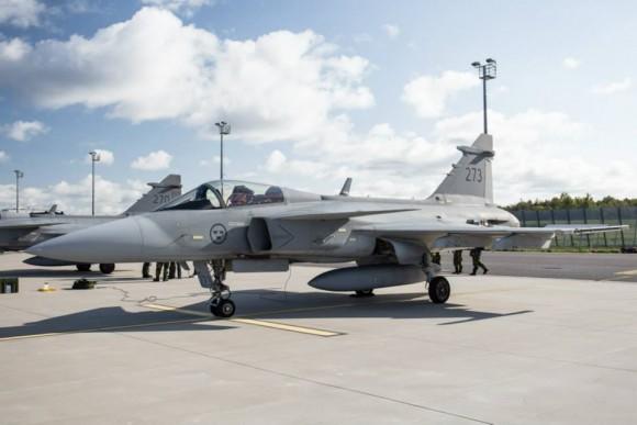 BRTE-19 - Gripen sueco - foto 2 Forças Armadas da Suécia