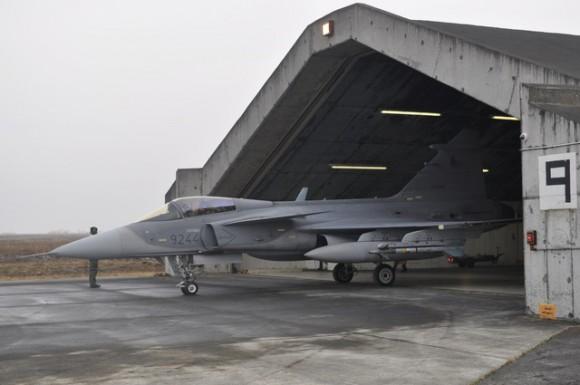 Caça Gripen tcheco operando na Islândia - foto 4 Min Def República Tcheca