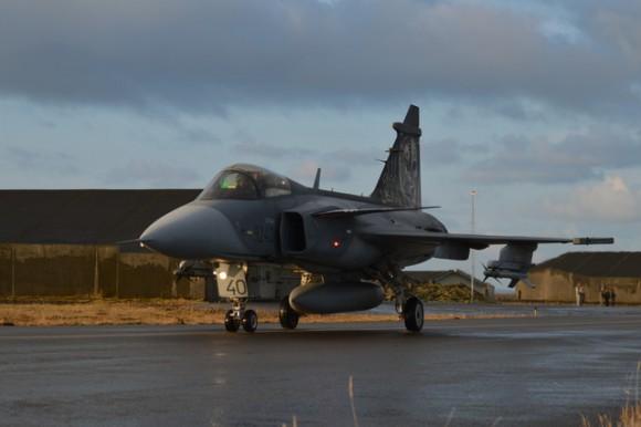 Caça Gripen tcheco operando na Islândia - foto 5 Min Def República Tcheca