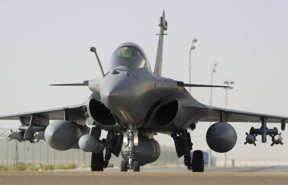 Caça Rafale em operações no Iraque - foto Min Def França
