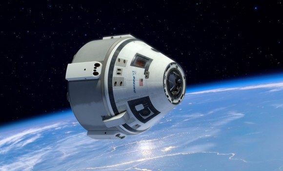 Commercial Crew - NASA - imagem Boeing