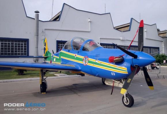 Domingo Aéreo PAMA-SP 2014 - A-29A Super Tucano do EDA - foto Nunão - Poder Aéreo