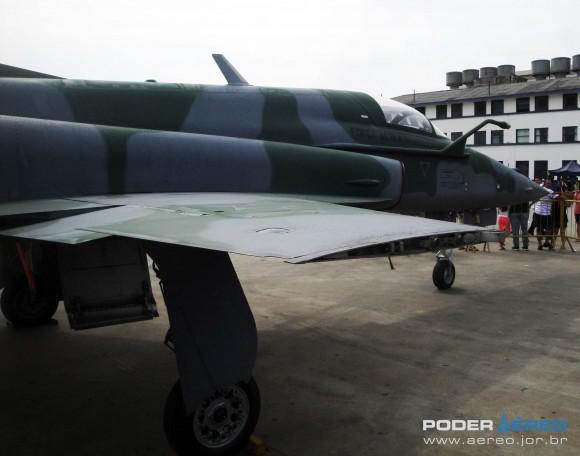 Domingo Aéreo PAMA-SP 2014 - caça F-5EM 4839 fora do Hangar 3 - foto 7 Nunão - Poder Aéreo