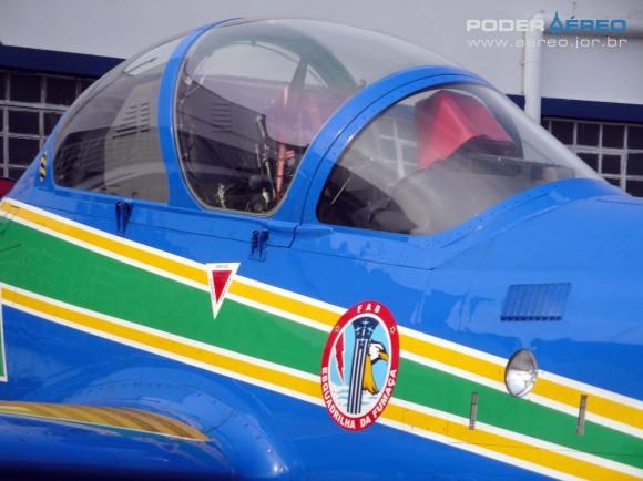 Domingo Aéreo PAMA-SP 2014 - canopi A-29A Super Tucano do EDA - foto 2 Nunão - Poder Aéreo