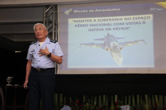 Encontro Velhas Águias - comandante Juniti Saito - foto FAB - Ag Força Aérea Sgt J Barros