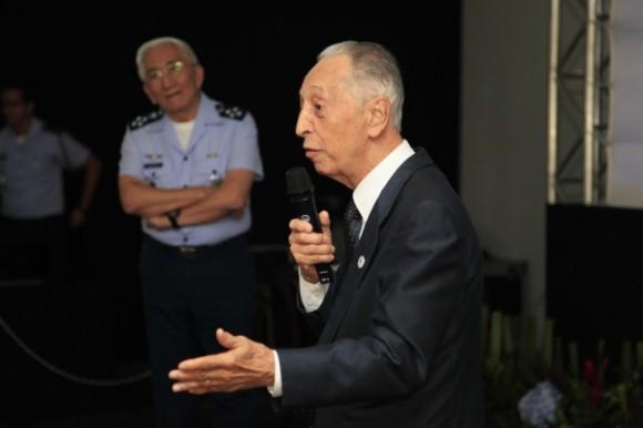Encontro Velhas Águias - tenente-brigadeiro Lélio Lobo - foto FAB - Ag Força Aérea Sgt J Barros