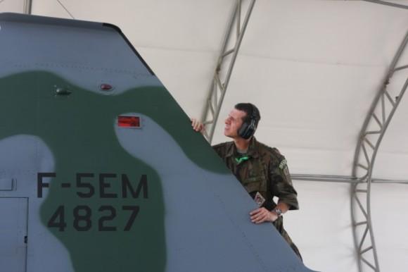 F-5EM na Salitre - foto ten Humberto Leite - FAB